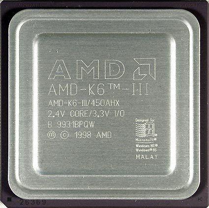 Procesador AMD K6-III 400Mhz |...