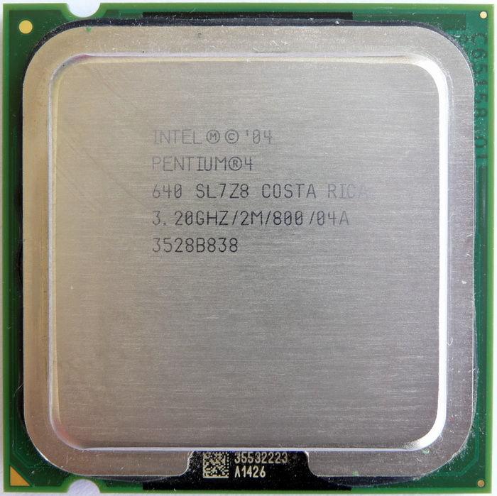 Procesador intel pentium 4 ghz sl7z8 procesadores for Pentium 4 architecture