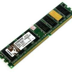 Memoria DIMM DDR KINGSTON 512MB 400Mhz
